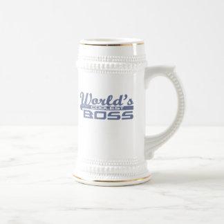 Der coolste Chef der Welt Bierkrug
