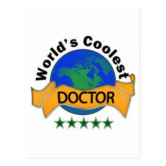 Der coolste Doktor der Welt Postkarte