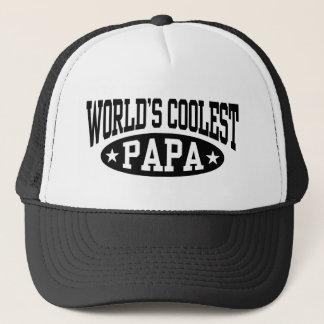 Der coolste Papa der Welt Truckerkappe