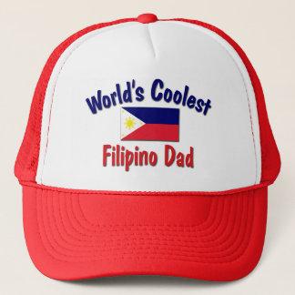 Der coolste philippinische Vati der Welt Truckerkappe