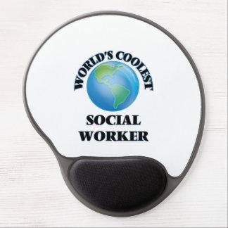 Der coolste Sozialarbeiter der Welt Gel Mouse Pads
