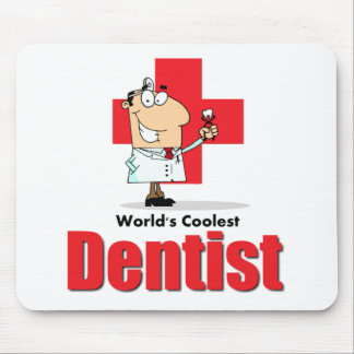 Der coolste Zahnarzt der Welt Mauspad