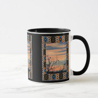 Der Dämmerungschor - afrikanische Kunst Tasse