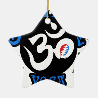 Der dankbare Yoga-Logo-Gang Keramik Ornament