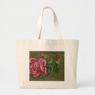 Der Dar der Mutter Rosen-Blume Jumbo Stoffbeutel