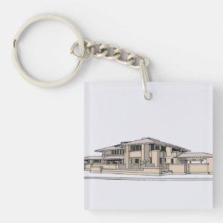 der Darwin D. Martin House Schlüsselanhänger