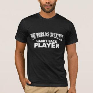 Der Das Hacky der Welt bestste Sack-Spieler T-Shirt