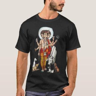 Der Dattatreya/Guru-Beschwörungsformel der Männer T-Shirt