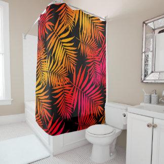 Der Dekor-tropisches Palme-Blatt der jugendlich Duschvorhang