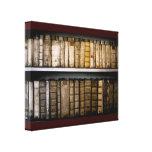 Der des 17. Jahrhundertsantike Leinwand Bücher Per Galerie Faltleinwand