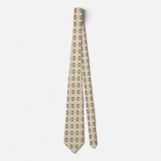 Der Discgolfkorb ganz über Hals-Krawatte Krawatte