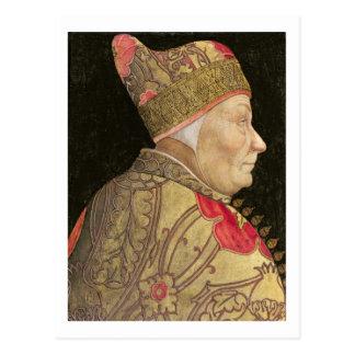 Der Doge Francesco Foscari, 1460 Postkarte