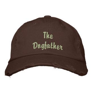 Der Dogfather gestickte Hut Baseballmütze