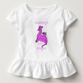 Der Drache-Baby-Shirt der Mama wenig Kleinkind T-shirt