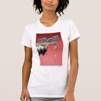 Der Drache ist ausführlich T T-Shirt
