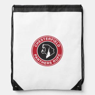 Der Drawstring-Tasche Chesterfield-Panthers Turnbeutel