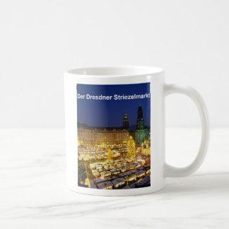 Der Dresdner Striezelmarkt Kaffeetasse