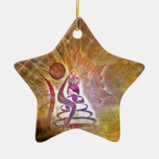 Der Dummkopf Keramik Ornament