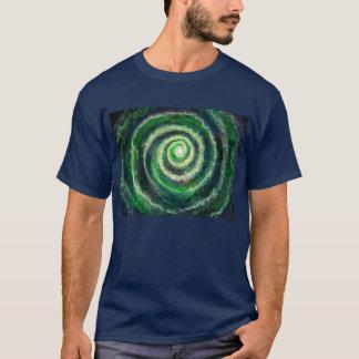 Spiral Galaxy Men's dark T-shirt