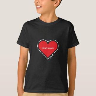 Der dunkle T - Shirt der Nieredonee-Kinder