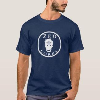 Der dunkle T - Shirt der ZED Korps-Männer -