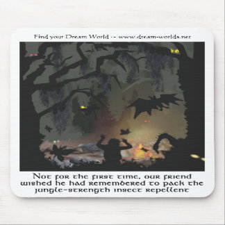 Der dunkle Wald Mousepad