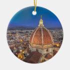 Der Duomo in Florenz, Italien Keramik Ornament