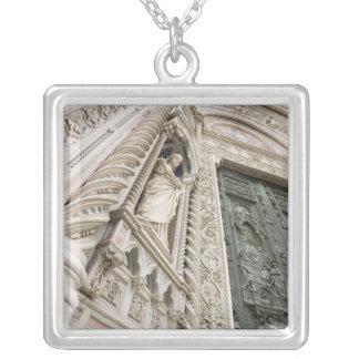 Der Duomo Santa Maria Del Fiore Florenz Italien Versilberte Kette