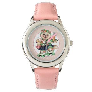 Der Edelstahl-Bügel-Uhr ROLLEcat-Kindes Uhr