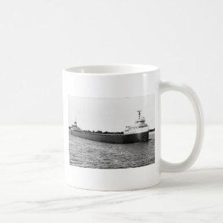 Der Edmund Fitzgerald auf dem Fluss St. Clair Kaffeetasse