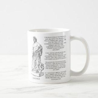 Der Eid von Asclepius (Hippokrates) Kaffeetasse