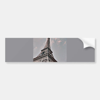 Der Eiffelturm Autoaufkleber