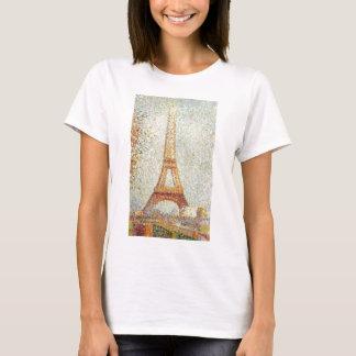 Der Eiffelturm durch Georges Seurat T-Shirt