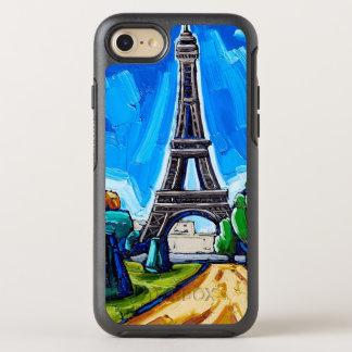 Der Eiffelturm-Handy-Fall OtterBox Symmetry iPhone 8/7 Hülle