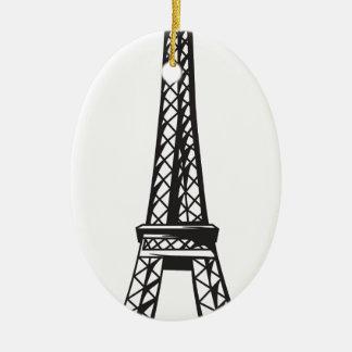 Der Eiffelturm (leben Sie) Keramik Ornament