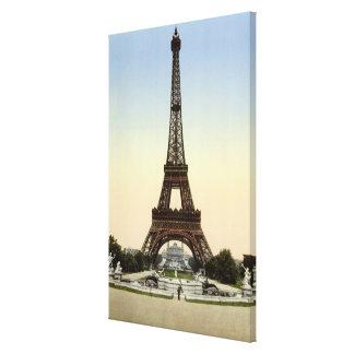 Der Eiffelturm Leinwand Druck