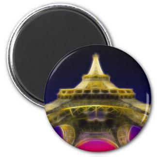 Der Eiffelturm, Paris, Frankreich Kühlschrankmagnet