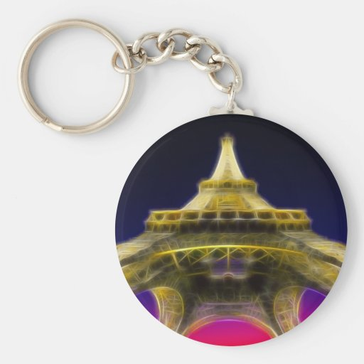 Der Eiffelturm, Paris, Frankreich Schlüsselband