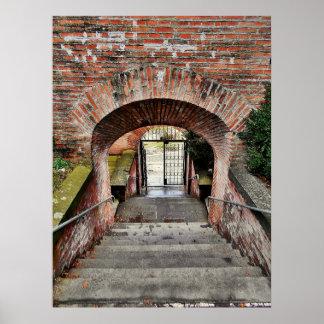 Der Eingang der Festung Poster