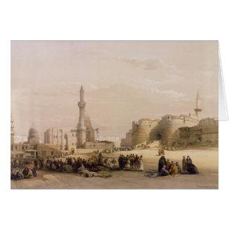 Der Eingang zur Zitadelle von Kairo Karte