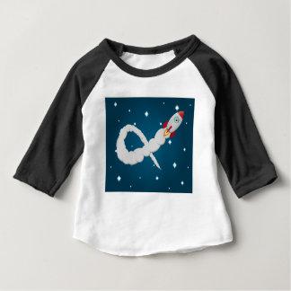 Der einsame Astronaut Baby T-shirt