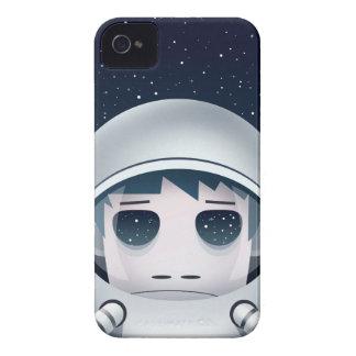 Der einsame Astronaut im Raum iPhone 4 Case-Mate Hüllen