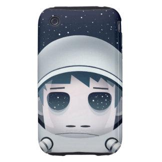 Der einsame Astronaut im Raum Tough iPhone 3 Hülle
