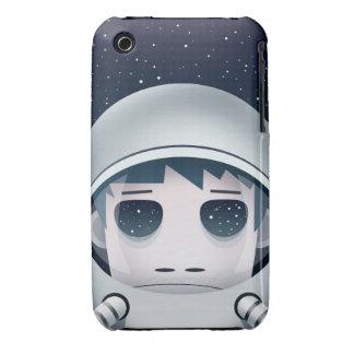 Der einsame Astronaut im Raum iPhone 3 Cover