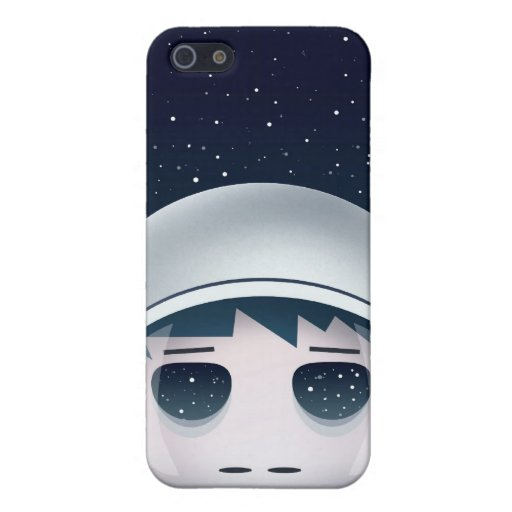 Der einsame Astronaut im Raum iPhone 5 Case
