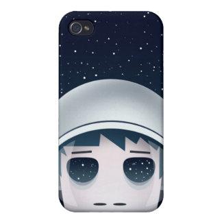 Der einsame Astronaut im Raum iPhone 4 Schutzhülle