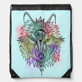 Der einsame Wolf Turnbeutel