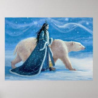Der Eisbär und die Schnee-Prinzessin Poster