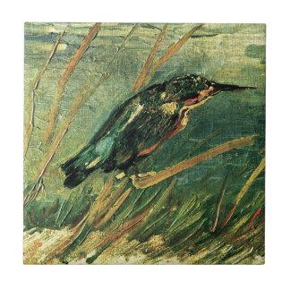 Der Eisvogel durch Vincent van Gogh Fliese