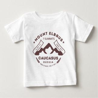 Der Elbrus Kaukasus Russland Baby T-shirt